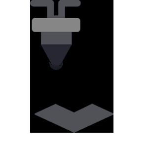 Icono - Corte y grabado láser